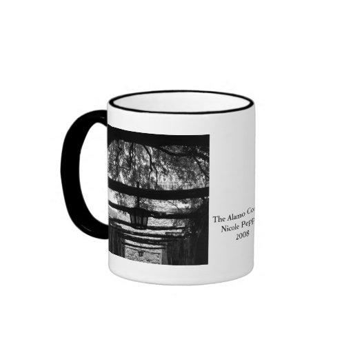 The Alamo Corridor Coffee Mugs