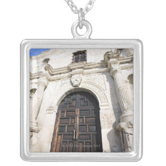The Alamo in San Antonio, Texas Silver Plated Necklace