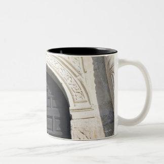 The Alamo in San Antonio, Texas Two-Tone Coffee Mug
