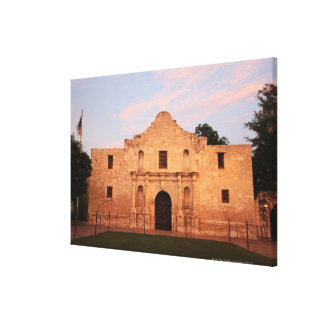 The Alamo Mission in modern day San Antonio, 2 Canvas Print