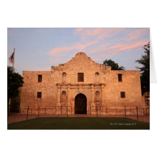 The Alamo Mission in modern day San Antonio, 2 Greeting Card