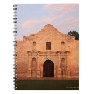 The Alamo Mission in modern day San Antonio, 2 Notebook