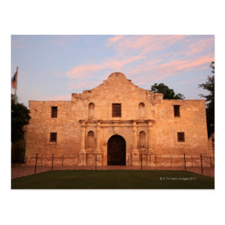 The Alamo Mission in modern day San Antonio, 2 Post Cards