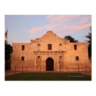 The Alamo Mission in modern day San Antonio, 2 Postcard