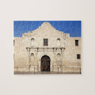 The Alamo Mission in modern day San Antonio, 3 Jigsaw Puzzle