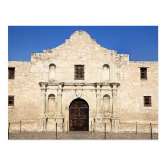 The Alamo Mission in modern day San Antonio, 3 Postcard