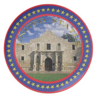 The Alamo Plate