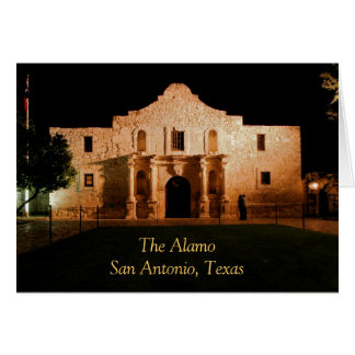 The Alamo San Antonio, Texas Greeting Card