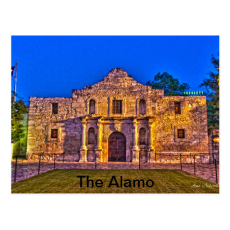 The Alamo - San Antonio, Tx Postcard