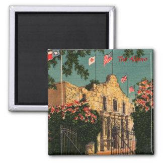 The Alamo Vintage Texas Magnet