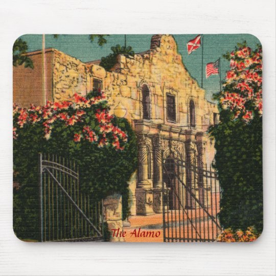 The Alamo Vintage Texas Mousepad