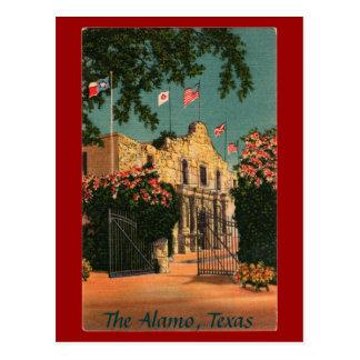 The Alamo Vintage Texas Postcard
