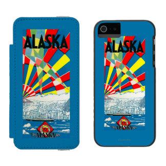 The Alaska Line Steamship Poster Incipio Watson™ iPhone 5 Wallet Case