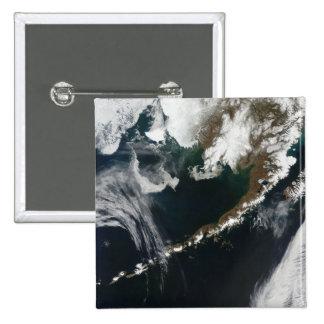 The Alaskan Peninsula and Aleutian Islands 15 Cm Square Badge