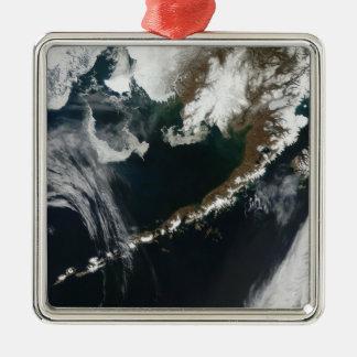 The Alaskan Peninsula and Aleutian Islands Christmas Ornament