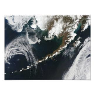 The Alaskan Peninsula and Aleutian Islands Photo Print