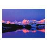The Alaskan Range is adjacent to Mt. Denali, Photo Print