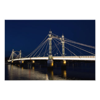 The Albert Bridge London Photo Print