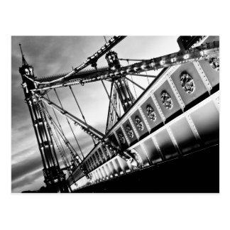 The Albert Bridge London Postcard