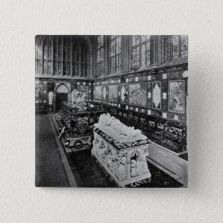 The Albert Memorial Chapel, Windsor 15 Cm Square Badge