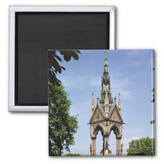 The Albert Memorial from the Albert Hall Square Magnet