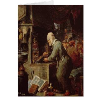 The Alchemist Card