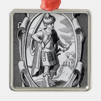 The Alchemist Geber Christmas Ornament