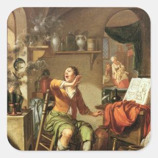 The Alchemist Square Stickers