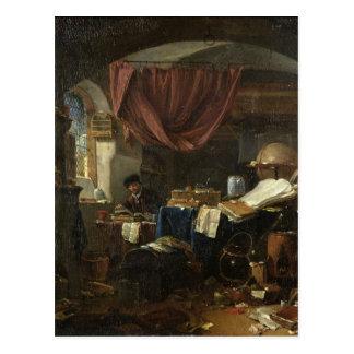 The Alchemist's Laboratory Post Card