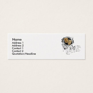 The Alchemy of Acting Mini Business Card