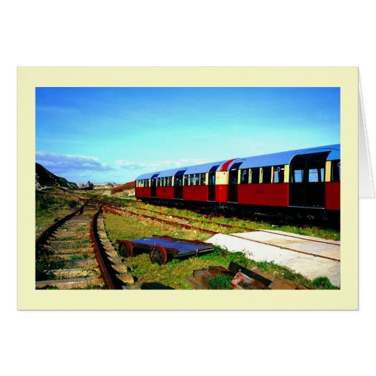 THE ALDERNEY TRAIN CARD