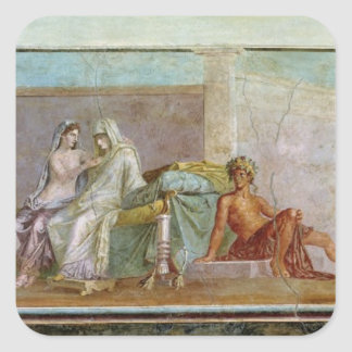 The Aldobrandini Wedding, 27 BC-14 AD Square Sticker