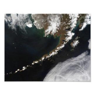 The Aleutian Islands and the Alaskan peninsula Photographic Print