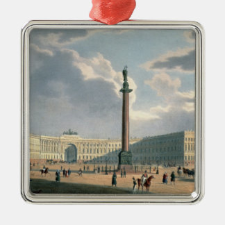 The Alexander Column and the Army Headquarters Christmas Ornament