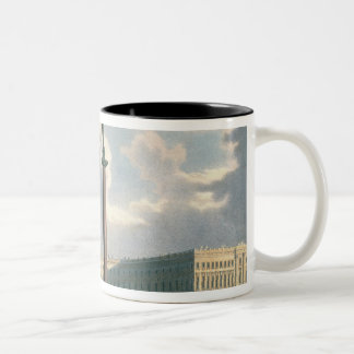 The Alexander Column and the Army Headquarters Two-Tone Coffee Mug