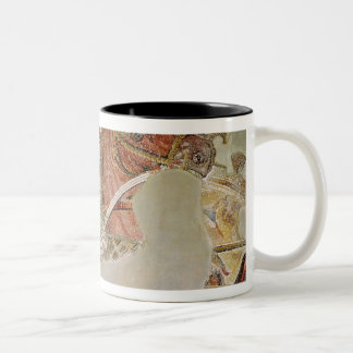 The Alexander Mosaic Two-Tone Coffee Mug