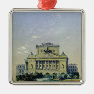 The Alexander Theatre in St. Petersburg, 1841 Christmas Ornament