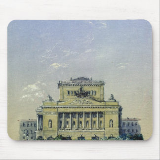 The Alexander Theatre in St. Petersburg, 1841 Mouse Mat