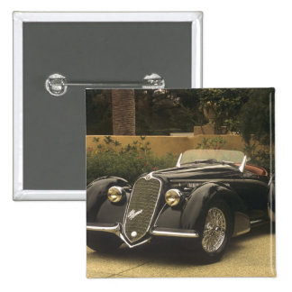 The Alfa Romeo 8C 2900B is a very rare and very 15 Cm Square Badge