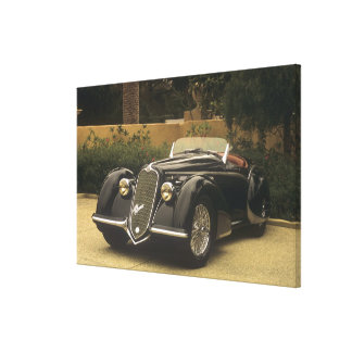 The Alfa Romeo 8C 2900B is a very rare and very Canvas Prints