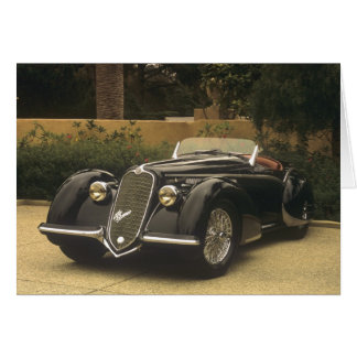 The Alfa Romeo 8C 2900B is a very rare and very Card