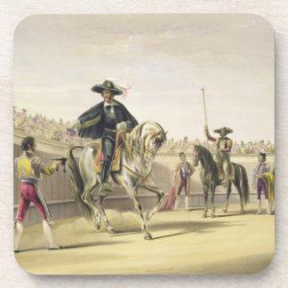 The Alguazil Delivering the Keys of the Toril, 186 Coaster