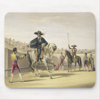 The Alguazil Delivering the Keys of the Toril, 186 Mouse Mat