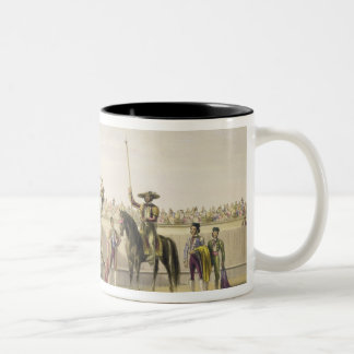 The Alguazil Delivering the Keys of the Toril, 186 Two-Tone Coffee Mug