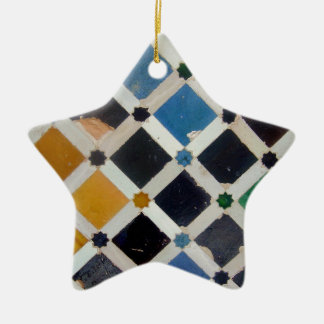The Alhambra Andalusia Spain Christmas Ornament