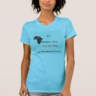 The Alkebulan Trust Light Aqua T-Shirt