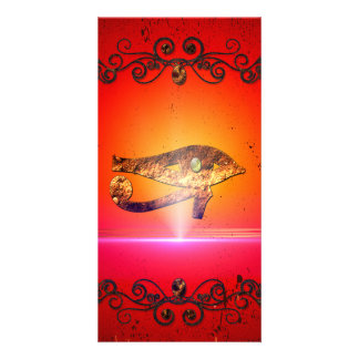 The all seeing eye 5 photo greeting card