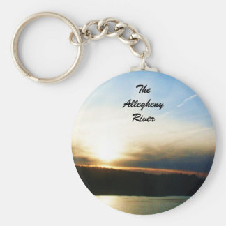 THE ALLEGHENY RIVER keychain
