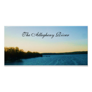 THE ALLEGHENY RIVER poster
