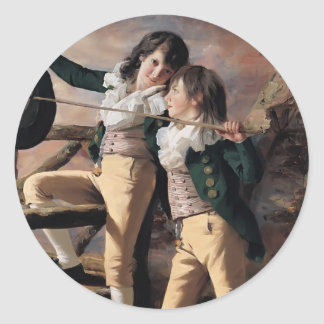 The Allen Brothers by Henry Raeburn Stickers